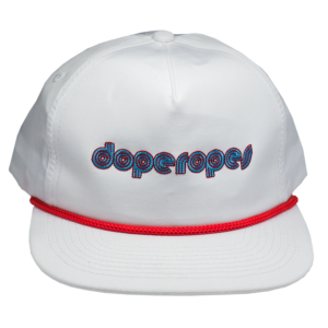 dope ropes hat front