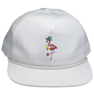 flamingo doperopes hat